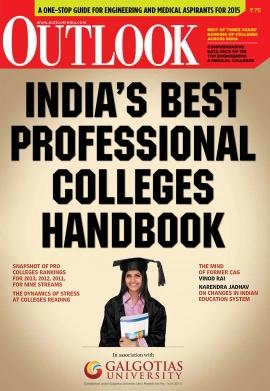 India Best professional colleges handbook