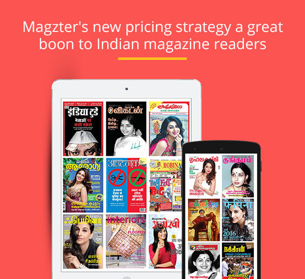 Magzter's new pricing strategy a great boon to Indian